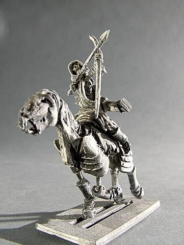 Wächter der Gräber Skelett Bogenschütze I auf Pferd