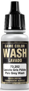 Game Color Ink 202 Wash Pale Grey Shade