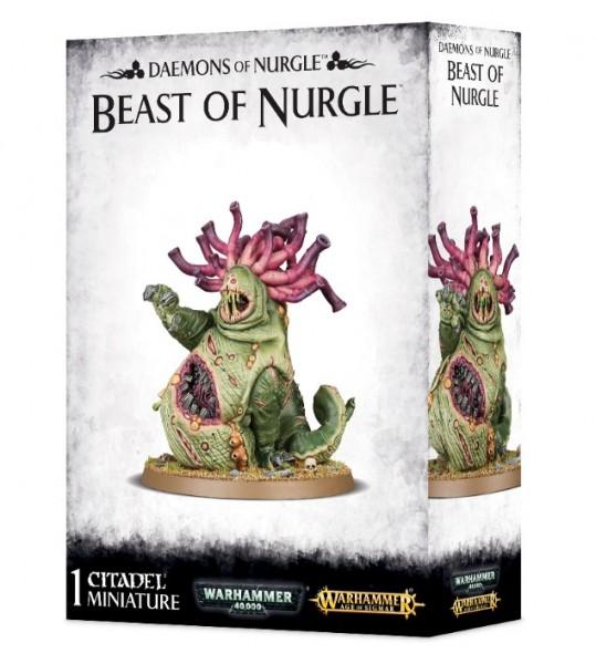 Deamons of Nurgle Beast of Nurgle