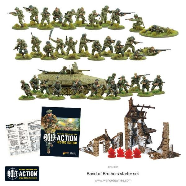 Band of Brothers Bolt Action Starter Set 2. Edition
