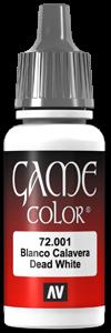Game Color 001 Skull White