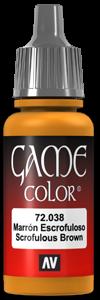 Game Color 038 Scrofulous Brown