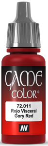 Game Color 011 Gory Red