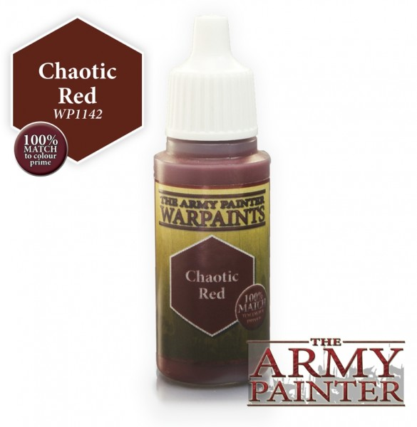 Chaotic Red - Warpaints