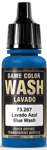 Game Color Ink 207 Wash Blue Shade