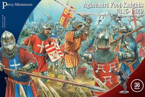 Agincourt Foot Knights 1415-1429