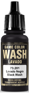 Game Color Ink 201 Wash Black Shade