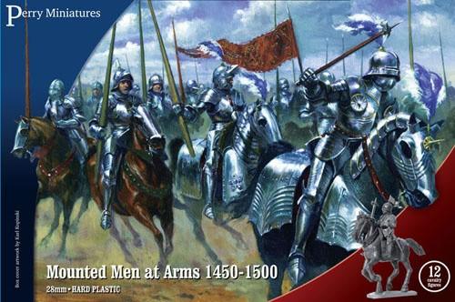 Mounted Men at Arms