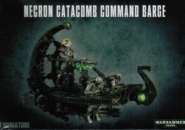 Necron Catacomb Command Barke / Annihilation Barke