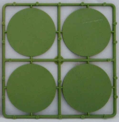 60mm runde Bases flach (8 Stück)