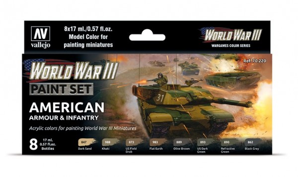 Model Color WWIII American Armour & Infantry.jpg
