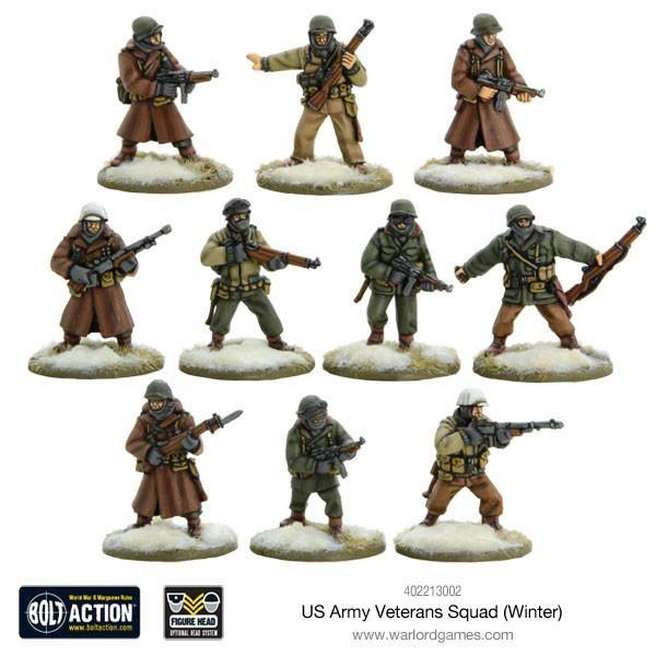 US Army Veterans Squad (Winter)