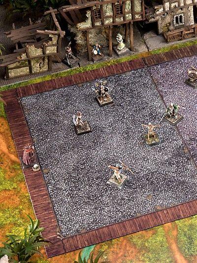 Ironball Spielfeld