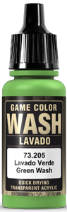 Game Color Ink 205 Wash Green Shade