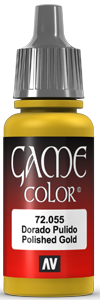 Game Color 055 Polished Gold