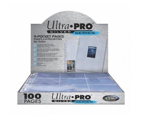 Ultra Pro Silver Series Sammelordnereinlagen 100 Stück