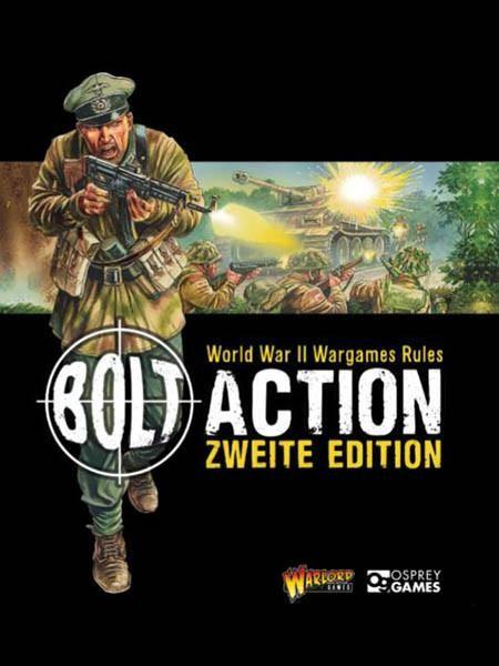 Regelbuch Bolt Action 2. Edition (deutsch)