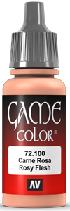 Vallejo Game Color 100 Rosy Flesh