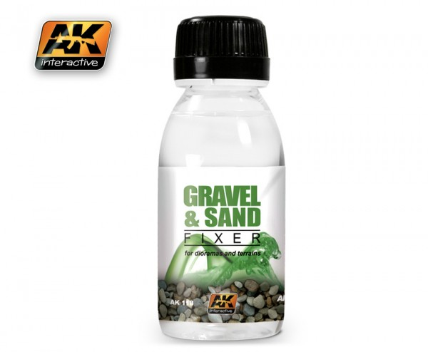 Gravel and Sand Fixer