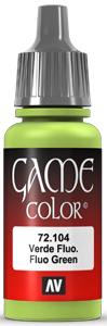 Vallejo Game Color 104 Fluo Green