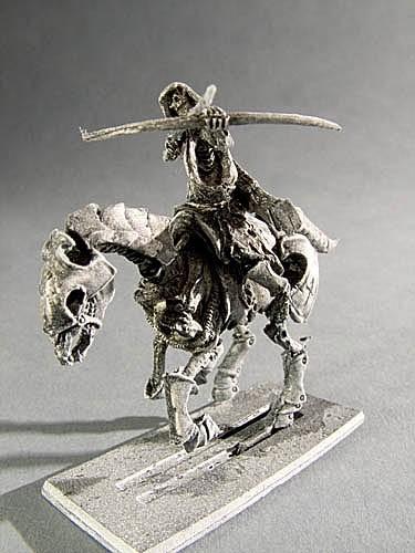 Wächter der Gräber Skelett Bogenschütze II auf Pferd