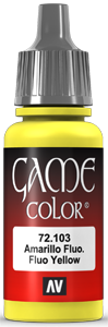 Vallejo Game Color 103 Fluo Yellow