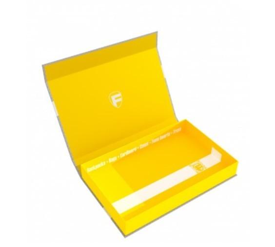 Feldherr Magnetbox half-size 40 mm gelb leer