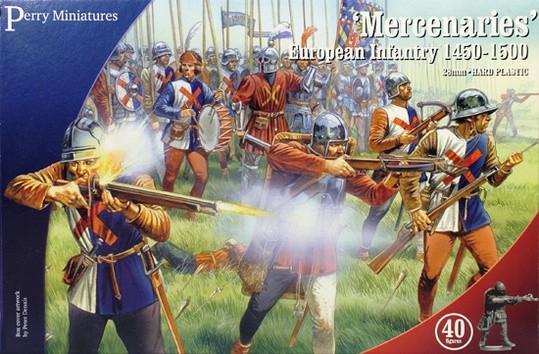 Mercenaries' European Infantry