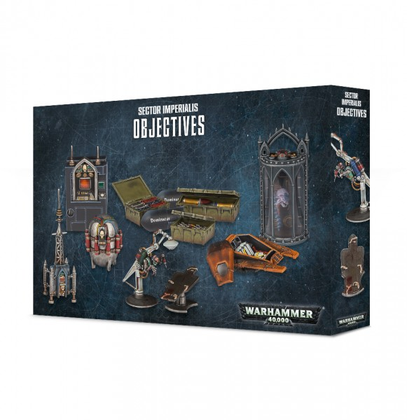 Warhammer 40.000 Sector Imperialis Objectives
