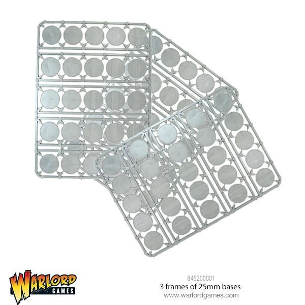 Pack of 25mm Round Bases