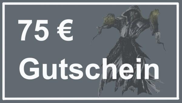 Gutschein im Wert von 75 Euro