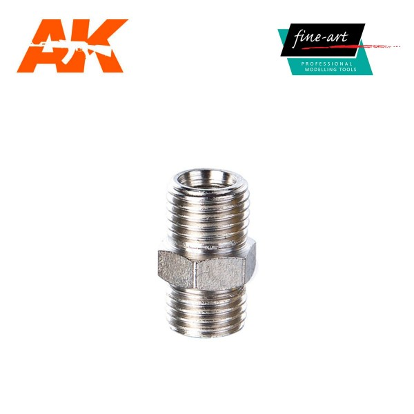 "Connector A6 1,4"" male – 1,4"" male.jpg"