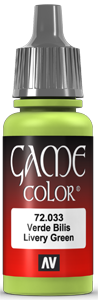 Game Color 033 Livery Green