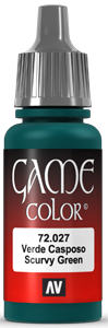 Game Color 027 Scurf Green