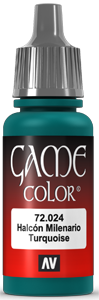 Game Color 024 Falcon Turquoise