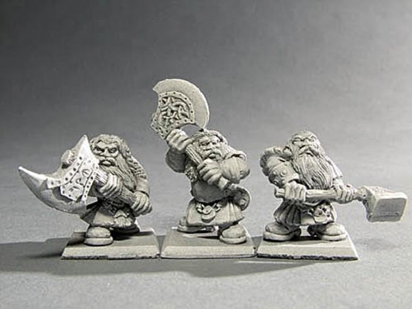 Krieger der Zwerge mit Zweihandwaffe II