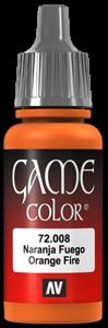 Game Color 008 Orange Fire