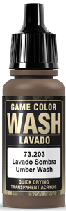 Game Color Ink 203 Wash Umber Shade