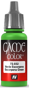 Game Color 032 Scorpy Green