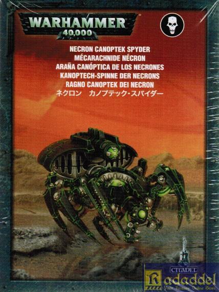 Necron Canoptek Spyder-Kanoptech Spinne