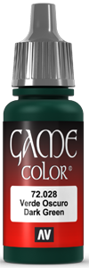 Game Color 028 Dark Green