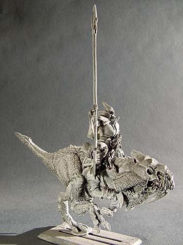 Dunkler Ritter auf Reitechse III