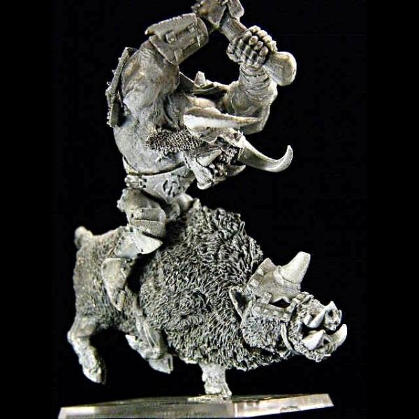 Ork Chef auf Wildschwein
