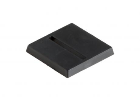 25mm x 25mm Bases geschlitzt (10)