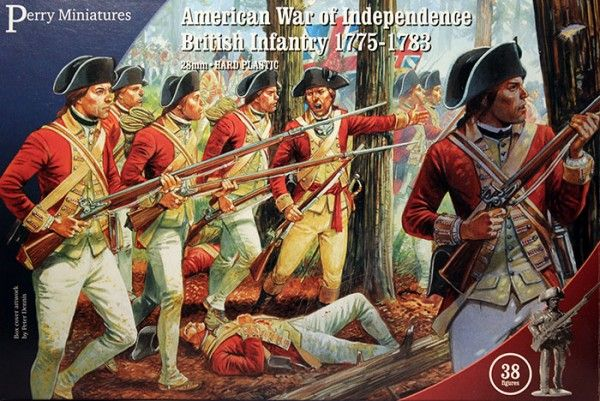 American War of Independence British Infantry