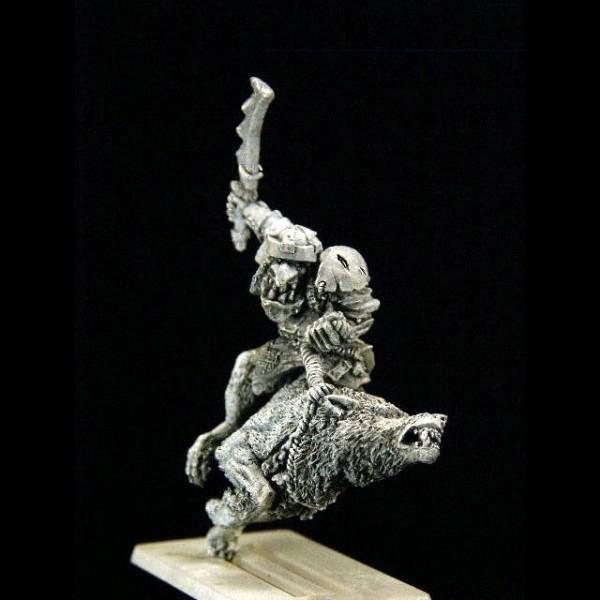 Goblin Wolfsreiter Held
