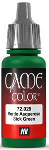 Game Color 029 Sick Green