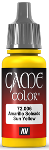 Game Color 006 Sunblast Yellow
