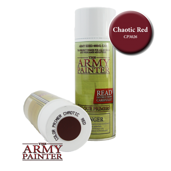 Colour Primer Chaotic Red