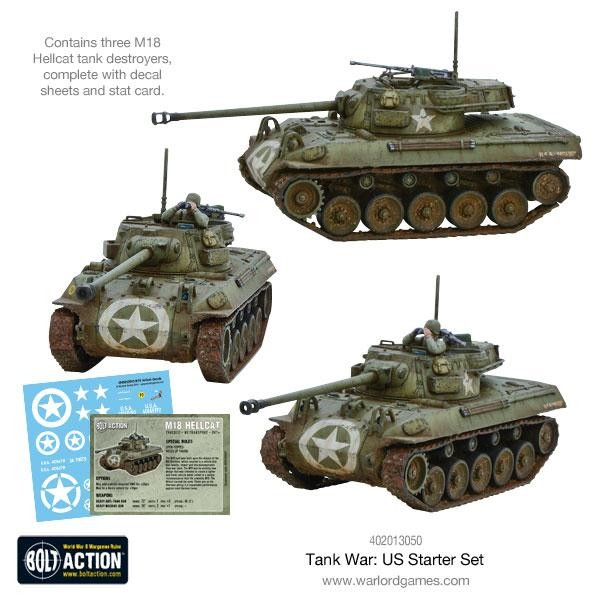 Tank War US Starter Set